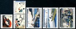 Japon - Japan (2018) - Set -  /  International Letter Writing Week - Birds - Flowers - 1989-... Imperatore Akihito (Periodo Heisei)