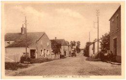 71 SAINT-MARTIN-en-BRESSE - Route De Mervans - France
