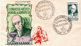 Brazil Cover From 1954 - Medicine