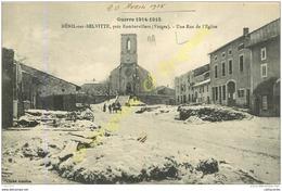 88. MENIL SUR BELVITTE . Une Rue De L'Eglise . Près RAMBERVILLERS .  GUERRE 1914-1915 . - Altri Comuni