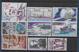 TAAF - Lot De 9 Timbres Oblitérés - Cote : 107 € - Collections, Lots & Series