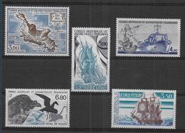 TAAF - Lot De 5 Timbres ** - Collections, Lots & Séries