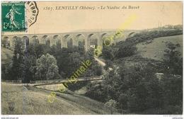 69.  LENTILLY .  Le Viaduc Du Buvet . - France