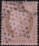 France  .   Yvert   .    54       .        O         .       Oblitéré - 1871-1875 Ceres