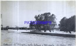 118497 ARGENTINA LA RIOJA LOS COLORADOS STATION TRAIN ESTACION DE TREN AÑO 1948 16.5 X 10 CM PHOTO NO POSTCARD - Fotografie