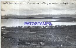 118498 ARGENTINA TIERRA DEL FUEGO USHUAIA BAHIA Y CANAL BEAGLE AÑO 1944 16.5 X 10 CM PHOTO NO POSTAL POSTCARD - Fotografie