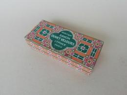 Boite En Carton Ancienne Héliotrope Savon Duvet Velours, L.T. Piver Paris - Beauty Products