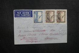 BELGIQUE - Enveloppe De Bruxelles Pour La Suisse En 1936 Par Avion , Affranchissement Plaisant- L 40461 - Cartas