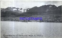 118503 ARGENTINA TIERRA DEL FUEGO USHUAIA BAHIA VISTA PARCIAL 16.5 X 10 CM PHOTO NO POSTAL POSTCARD - Fotografie