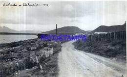 118504 ARGENTINA TIERRA DEL FUEGO USHUAIA ENTRADA VISTA PARCIAL AÑO 1944 16.5 X 10 CM PHOTO NO POSTCARD - Fotografie