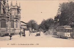 CAEN : Boulevard Des Alliés N°3 - Caen