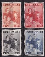 SURINAME 1943 Koninklijke Familie Ongestempelde Serie NVPH 206 / 209 - Suriname ... - 1975