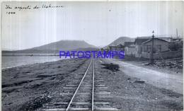 118506 ARGENTINA TIERRA DEL FUEGO USHUAIA VISTA PARCIAL RAILROAD AÑO 1944 17 X 10 CM PHOTO NO POSTAL POSTCARD - Fotografie