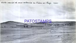 118507 ARGENTINA TIERRA DEL FUEGO VISTA PARCIAL DE UNA ESTANCIA AÑO 1944 16.5 X 9.5 CM PHOTO NO POSTAL POSTCARD - Fotografie