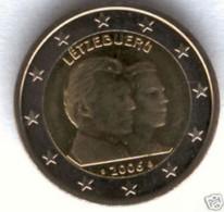Luxemburg 2006     2 Euro Commemo  Erfgroothertog Guillaume   UNC Uit De Rol  UNC Du Rouleaux  !! - Luxembourg