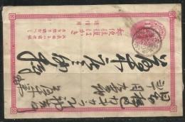 CHINA PEOPLE REPUBLIC - CINA POST CARD POSTAL CARTE CARTOLINA POSTALE INTERO USATO USED OBLITERE' - Storia Postale