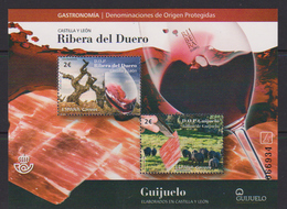 Spain (2018) - Block -  /  Food - Gastronomie - Gastronomy - Gastronomia - Wine - Levensmiddelen