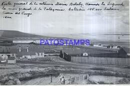 118509 ARGENTINA TIERRA DEL FUEGO ESTANCIA MARIA BEHETY GALPON ESQUILA 1944 16 X 10 CM PHOTO NO POSTCARD - Fotografie