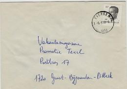 Poststempel  EVERGEM 1  1 - Op Opc.nr 2352 - Marcofilia