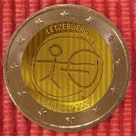 Luxemburg 2009     2 Euro Commemo     EMU     UNC Uit De Rol  UNC Du Rouleaux  !! - Luxembourg