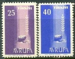 1958 TURKEY EUROPA CEPT MNH ** - Ongebruikt