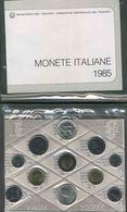 1985 Italia, FDC Serie Divisionale Manzoni - 1946-… : Repubblica