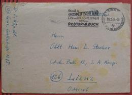 """8010 Graz - Werbestempel """"Überall In Grossdeutschland Ein- Und Rückzahlungen Mit Dem Postsparbuch"""" 1944 / Feldpost - Marcofilie - EMA (Print Machine)"""