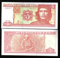 Caraibi CARIBE CHE GUEVARA 3 PESOS 2004 Fds Unc - Cuba