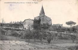 CHAMPDENIERS - L'Abside De L'Eglise - Champdeniers Saint Denis
