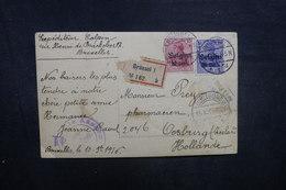 BELGIQUE - Carte Postale Photo De Bruxelles Pour Les Pays Bas En 1916 - A Voir - L 40479 - [OC1/25] Gen.reg.