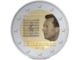 Luxemburg 2013     2 Euro Commemo   Volkslied    UNC Uit De Rol  UNC Du Rouleaux  !! - Luxembourg