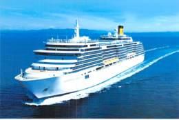 PAQUEBOT De CROISIERE : COSTA LUMINOSA 2/2 ( Costa Cruises ITALIE USA Carnival Corp. ) Photo CPM GF - Liner Cruise Ship - Piroscafi