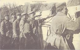 CPA -  In Schutzengraben - Regiments