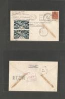FRC - Martinique. 1945 (Nov 1) USA - Fort De France. USA Prexie Fkd Env + Retour With French Martinique New Fkgs Cds. Ni - Francia (antiguas Colonias Y Protectorados)