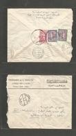 SAUDI ARABIA. 1961 (April) Awad BIN LADIN Family Business. Reverse Multifkd Envelope To Egypt, Cairo (4 April 61) Comerc - Saudi Arabia