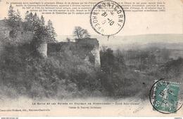 08-LE RAVIN ET LES RUINES DU CHATEAU DE MONTCORNET-N°R2113-F/0343 - Frankreich