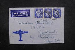 BELGIQUE - Enveloppe De St Léger Pour Stanleyville En 1945 - L 40483 - Cartas