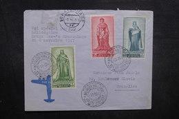 BELGIQUE - Enveloppe 1er Vol Belgique / Pays Bas En 1947 Par Hélicoptère, Affranchissement Et Cachet Plaisants - L 40485 - Cartas