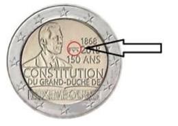 Luxemburg  2018  2 Euro Commemo CONSTITUTION   Met MMT Brug - Poinçon Pont  UNC Uit De BU - UNC Du Coffret  !!!! - Luxembourg