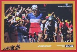 Cyclisme : Tour De France , Arnaud Démare, Champion De France, Avec Dédicace - Cyclisme