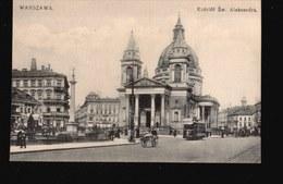 LOT061.....5 CPA VARSOVIE - 5 - 99 Postcards
