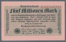 P105 Ro104a DEU-117a. 5 Million Mark 1923 UNC NEUF - 5 Millionen Mark