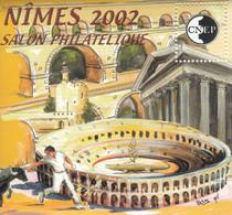 FRANCE  BLOC SOUVENIR N° 36  NIMES 2002 - CNEP