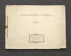 Assicurazioni Generali 1831 - Album Con Vedute Delle Varie Sedi - 1931 - RARO - Otros