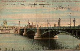 BELGIQUE EXPOSITION UNIVERSELLE DE LIEGE 1905  PONT DE FRAGNEE - Liège