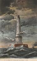 Carte Postale Ancienne - Le Phare De Cordouan Par Gros Temps - Barche