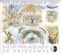 FRANCE  BLOC SOUVENIR 2005 N° 43/44  AIX/PARIS - CNEP
