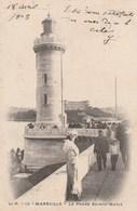 Carte Postale Ancienne - Marseille - Le Phare Sainte-Marie - Vers 1900 - Barche
