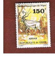 NIGER  -  SG 844  -  1981 ANIMALS: ADDAX    -  USED * - Niger (1960-...)