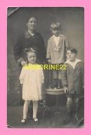 CARTE PHOTO  Photo De Famille , Photo De J.M Martin Les Sables D Olonne - Fotografie